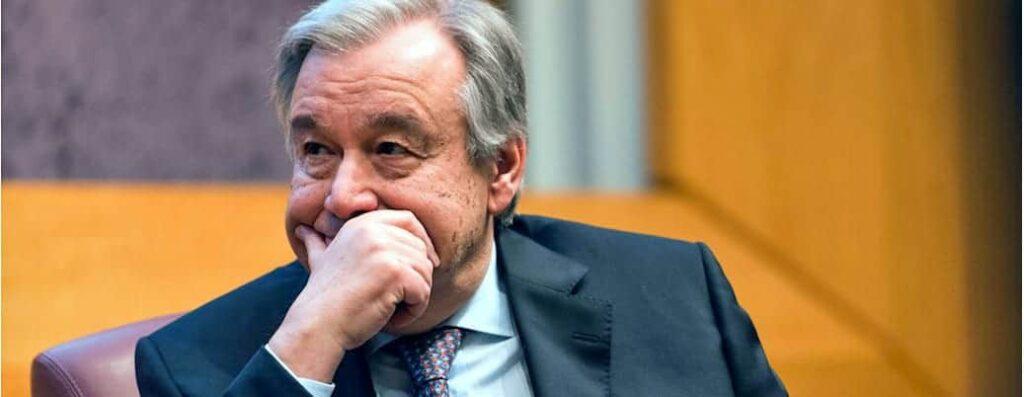 António Guterres, the UN secretary-general