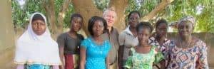 Fred Eckhard charity Burkina Faso