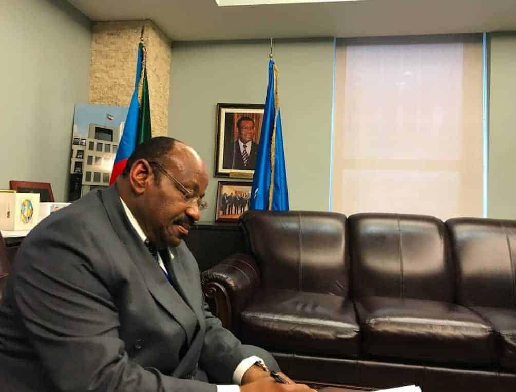 Ambassador Anatolio Ndong Mba of Equatorial Guinea