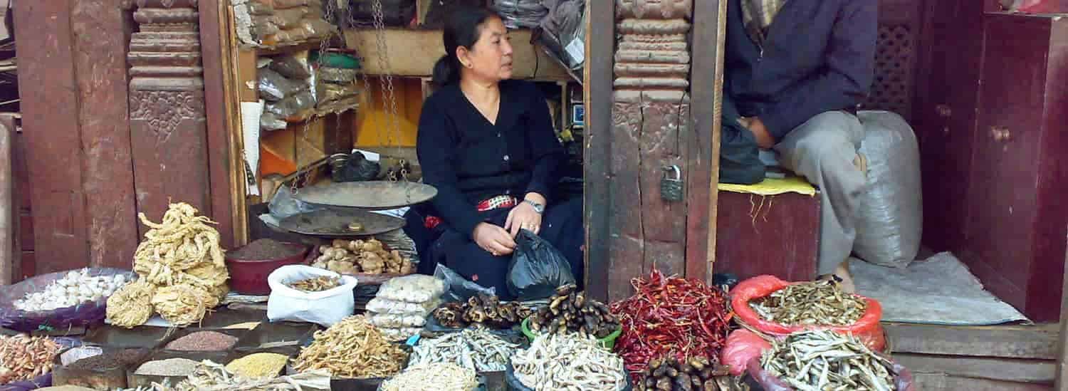 A World Bank report on foodborne diseases says food-safety regulations are most deficient in low-income countries in South Asia, Southeast Asia and sub-Saharan Africa, which can result in early deaths, especially among children. A dried-fish market in Kathmandu, Nepal, above.