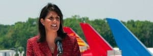 Nikki Haley at Boeing Plant in South Carolina, May 2013