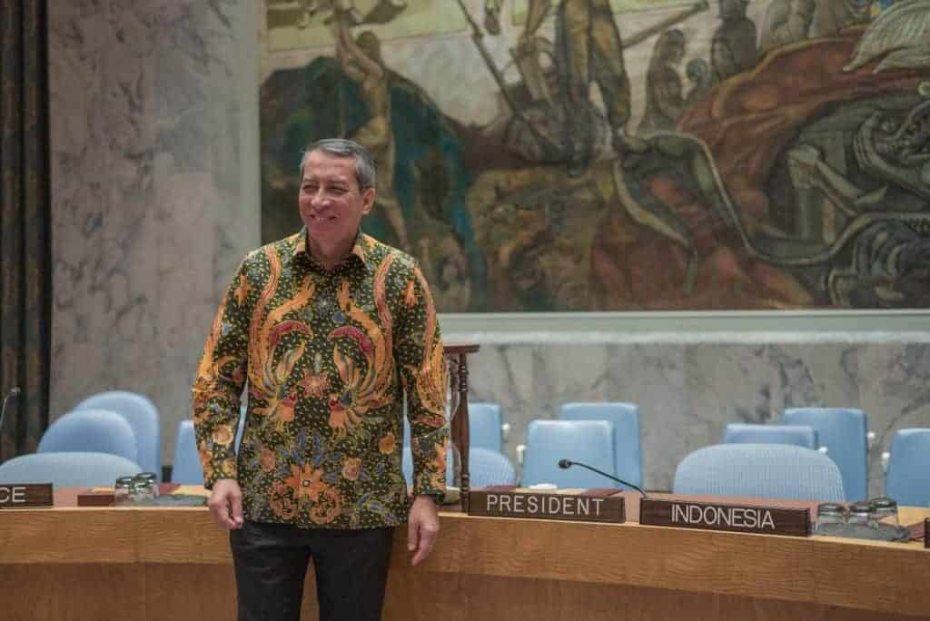 The Un Security Council S New President An Indonesian Economist And Peace Broker Passblue
