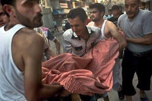In Aleppo, another victim in the Syrian war