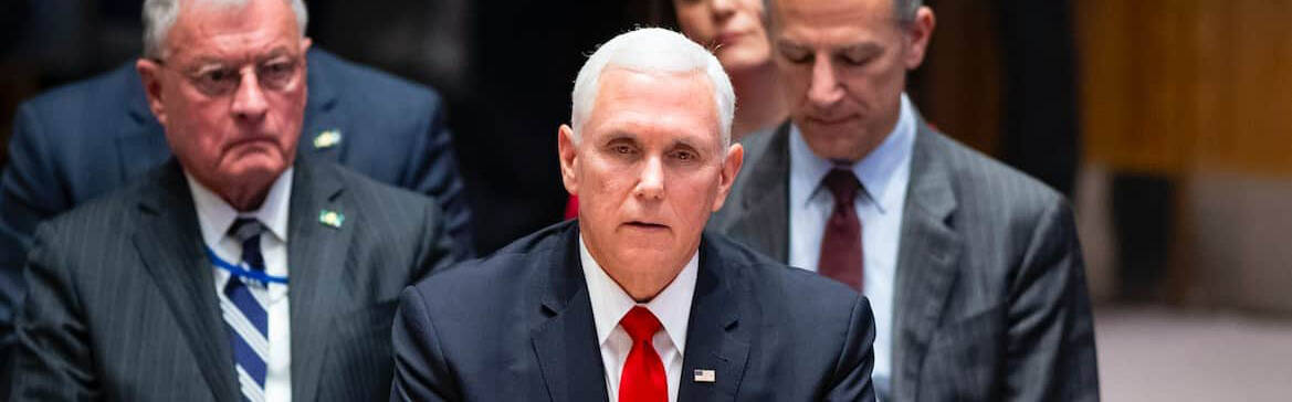 Vice President Pence at the United Nations Security Council on April 10, 2019