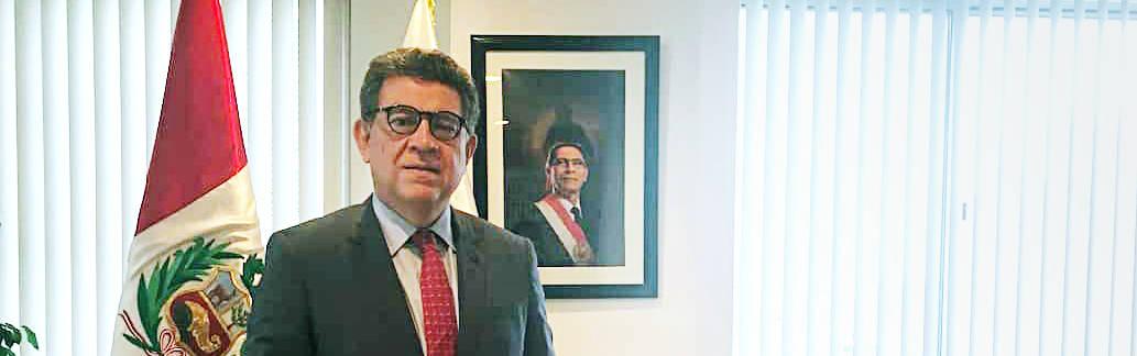 Gustavo Meza-Cuadra, Peru's ambassador to the UN