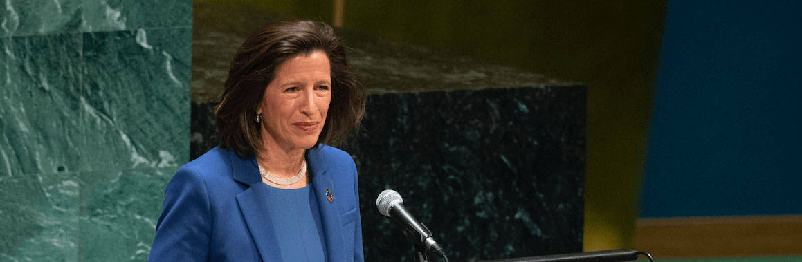 Melissa Fleming, the new head of the UN's Department of Global Communications