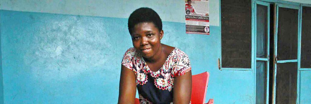 Eighteen-year-old Millicent lives at an orphanage in Kete Krachi, Ghana
