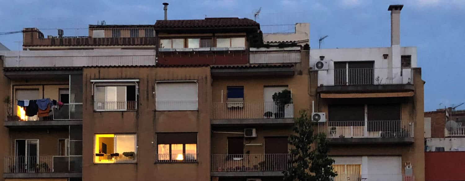 Apartment house in Barcelona Spain