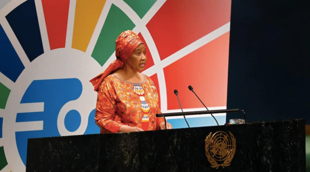UN Women's executive director, Phumzile Mlambo-Ncguka