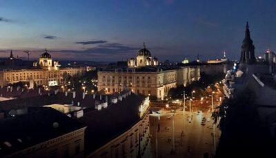 Vienna from my window
