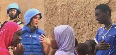 UN peacekeepers in Gao, Mali