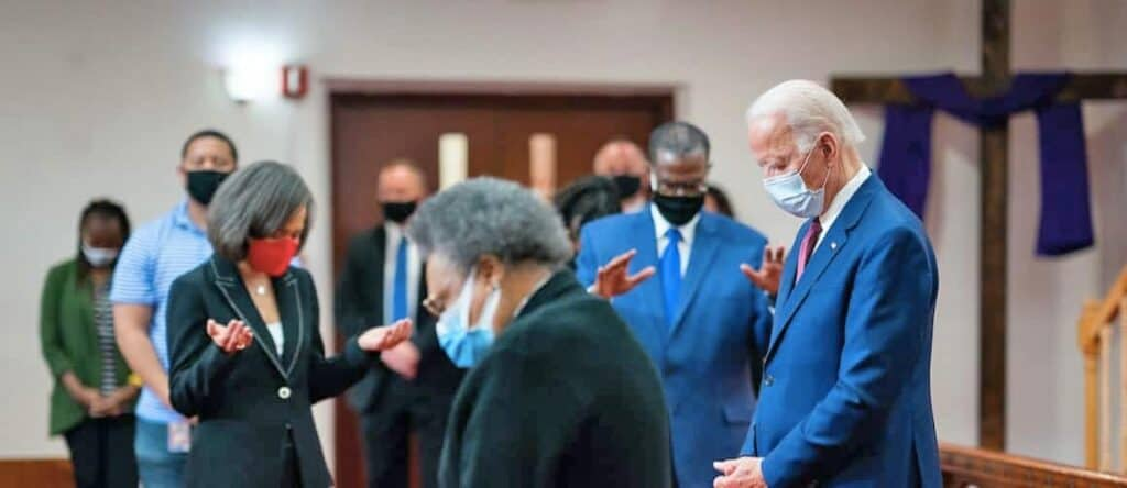 Joe Biden at Bethel AME Church Wilmington DE