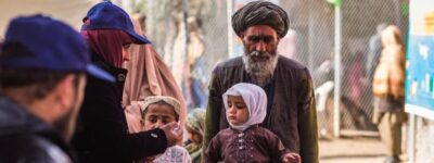 Families in the Afghanistan-Pakistan border area