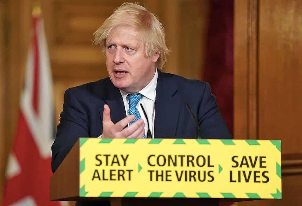 Photo of UK Prime Minister Boris Johnson