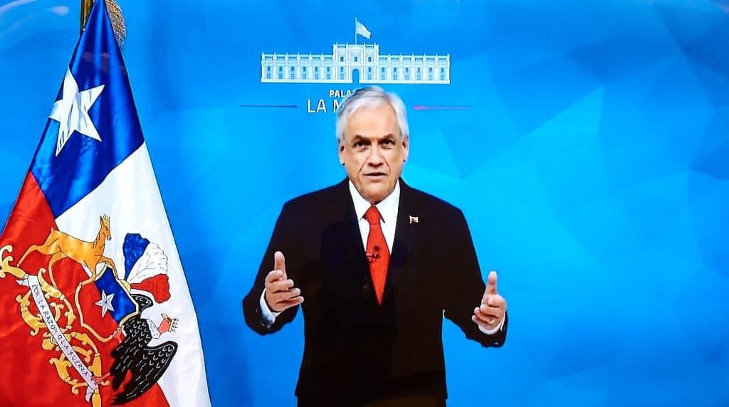 President Sebastian Piñera of Chile
