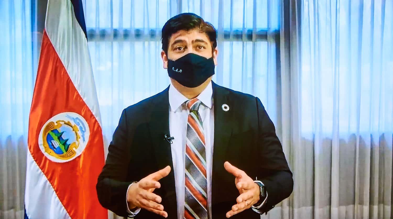 Carlos Alvarado Quesada, president of Costa Rica