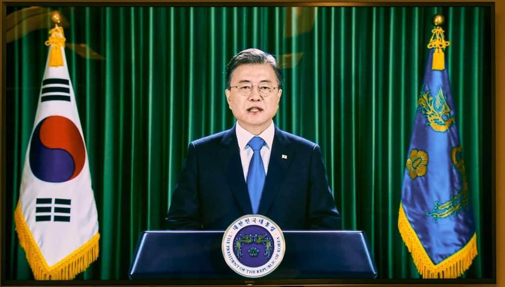 President Moon Jae-in of South Korea