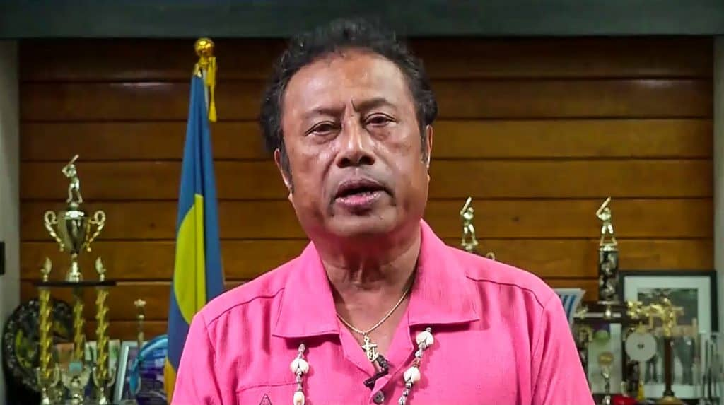 President Remengesau of Palau