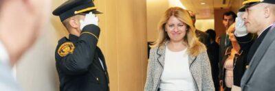 President Zuzana Caputova of Slovakia