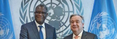 Secretary-General António Guterres and Dr. Denis Mukwege