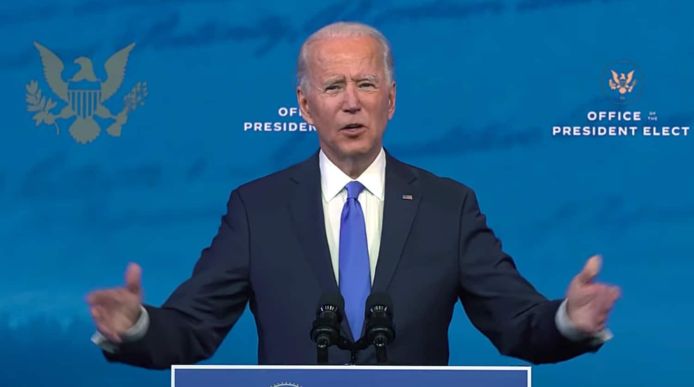 Joe Biden Video Address