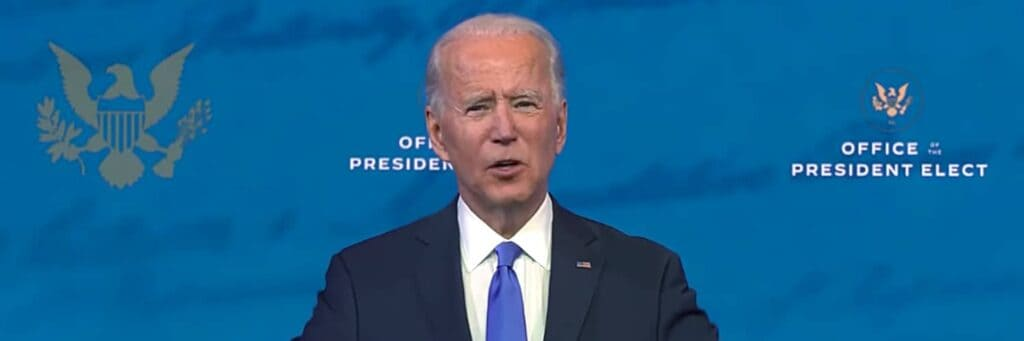 Joe Biden Video Address