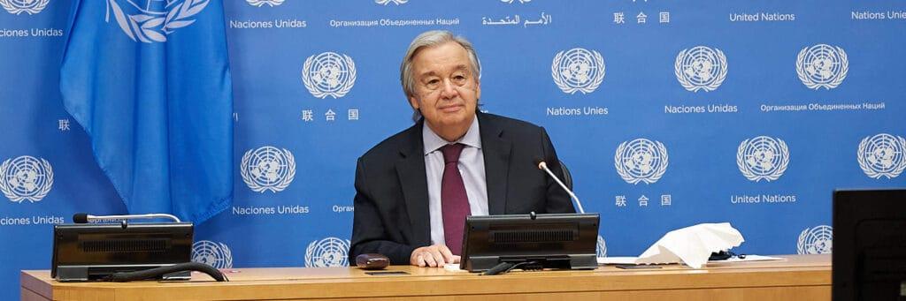 Secretary-General Antonio Guterres