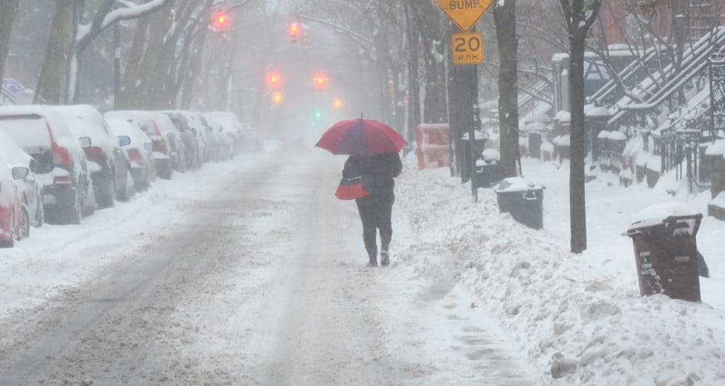 Snow on Henry St, Brooklyn Dec 2020