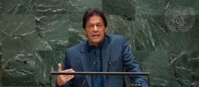 Prime Minister Imran Khan of Pakistan