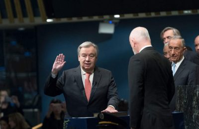 Incoming Secretary-General Takes Oath of Office