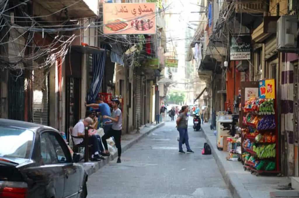 Street in Beiruit Lebanon