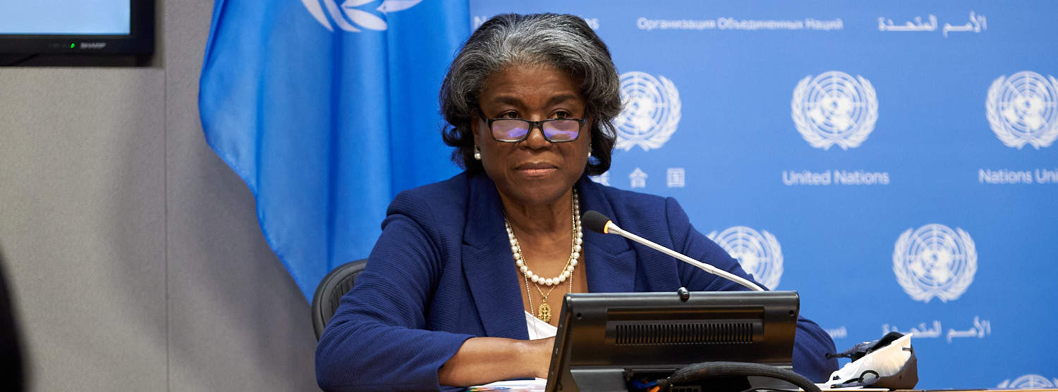 Linda Thomas-Greenfield, the New UN Envoy, Heads Into Her Job 'Sprinting' - PassBlue