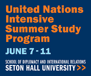 Seton Hall University's Graduate Programs in International Affairs