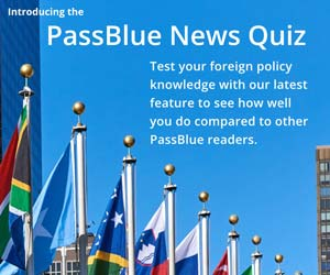 Test your foreign policy knowledge with our latest news quiz.