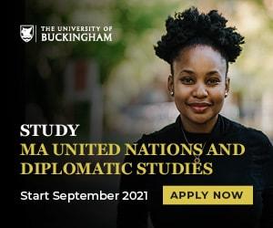 University of Buckingham - MA United Nations Studies