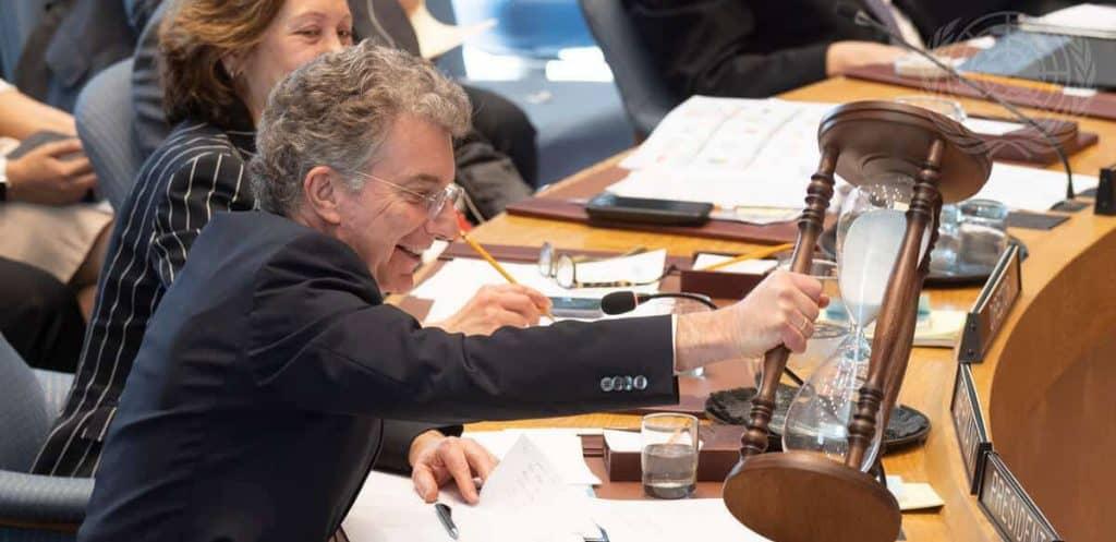 Christoph Heusgen - Germany's ambassador to the United Nations.