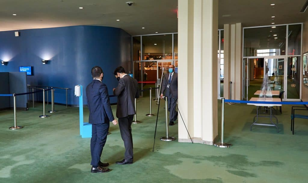 United Nations General Assembly Hall Entrance