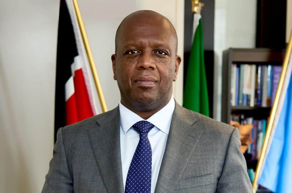 Ambassador Martin Kimani of Kenya