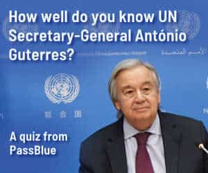 How well do you know UN Secretary-General António Guterres?